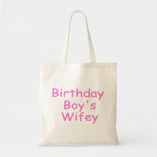Birthday Boy's Wifey Tote Bag