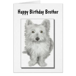 Birthday Brother Card