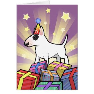 Birthday Bull Terrier Card