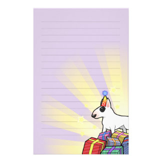 Birthday Bull Terrier Stationery