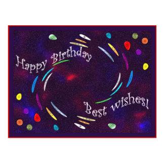 Birthday Buttons! Postcard