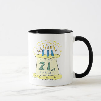 Birthday Cake 21st Birthday Gifts Mug