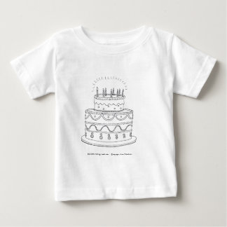 Birthday Cake Baby T-Shirt