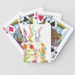 Birthday Cake Bicycle Poker Cards