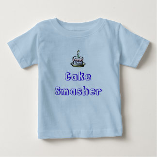 birthday-cake, Cake Smasher Baby T-Shirt
