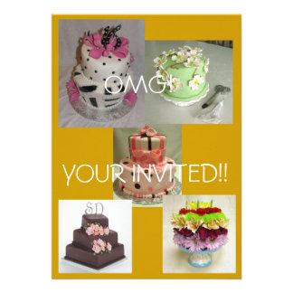 birthday cake, cake yummy, flower cake, Cake1, ... Custom Announcements