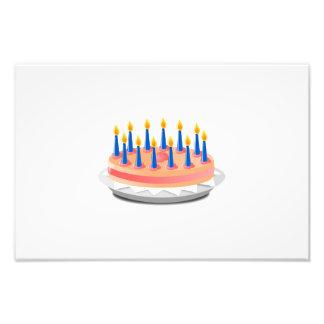 Birthday cake cartoon photo art
