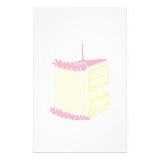 Birthday Cake Customised Stationery