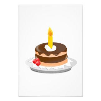 Birthday Cake Custom Invite