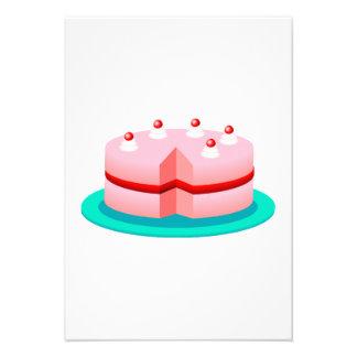 Birthday Cake Personalized Invite