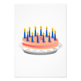 Birthday Cake Invite