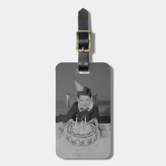 Birthday Cake Luggage Tag