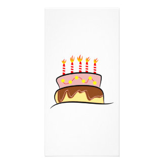Birthday Cake Picture Card