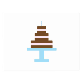 Birthday Cake Post Card