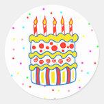 Birthday Cake Sticker