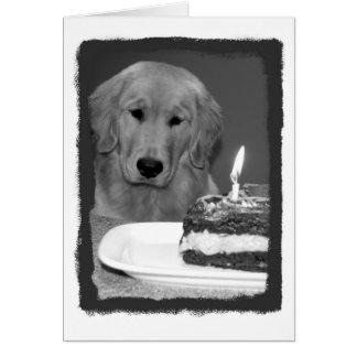 Birthday Cake Wait Card