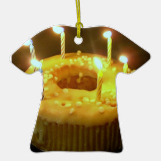 Birthday cakes candles christmas ornament