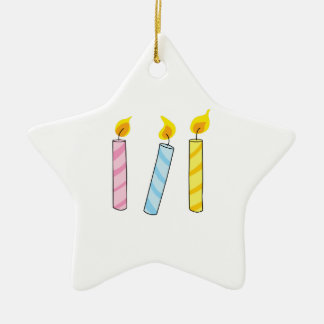 BIRTHDAY CANDLES CHRISTMAS ORNAMENT