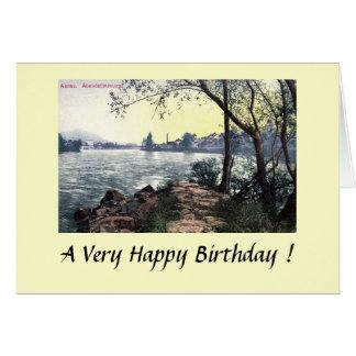 Birthday Card - Aarau, Switzerland