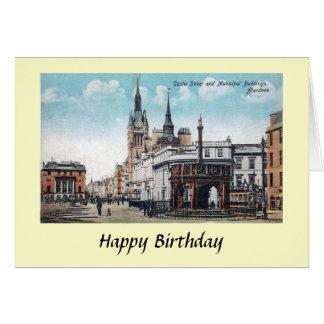 Birthday Card - Aberdeen, Scotland