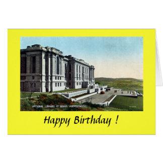 Birthday Card - Aberystwyth