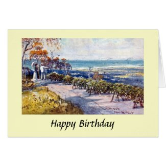 Birthday Card - Adelaide, South Australia