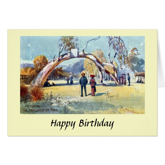 Birthday Card - Adelaide, South Australia