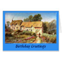 Birthday Card - Anne Hathaway's Cottage