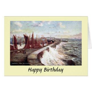 Birthday Card - Arbroath, Scotland