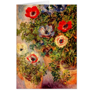 Birthday Card - Art by Claude Monet