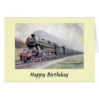 Birthday Card - Atlantic Coast Express