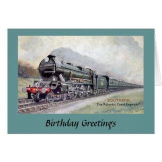 Birthday Card - Atlantic Coast Express