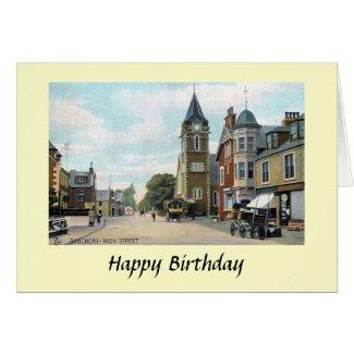 Birthday Card - Banchory, Aberdeenshire