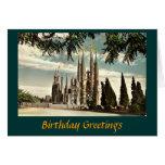 Birthday Card, Barcelona, Sagrada Familia