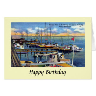 Birthday Card - Biloxi, Mississippi
