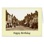 Birthday Card - Blandford Forum, Dorset