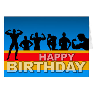 Birthday Card Bodybuilder