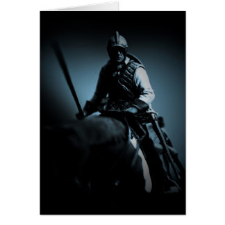 Birthday Card - Border Reivers On Horse