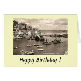 Birthday Card - Brixham, Devon