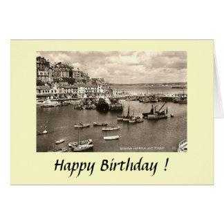 Birthday Card - Brixham, Devon