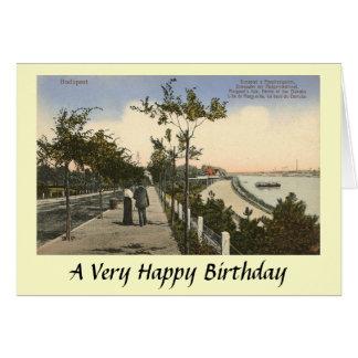 Birthday Card - Budapest
