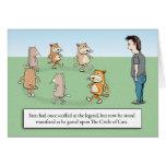 Birthday Card - Circle of Cats