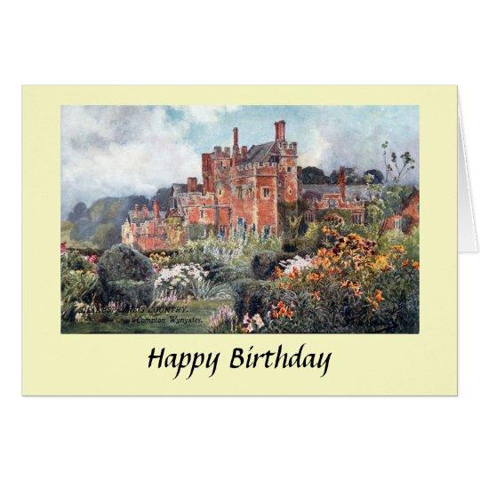 Birthday Card - Compton Wynyates, Warwickshire