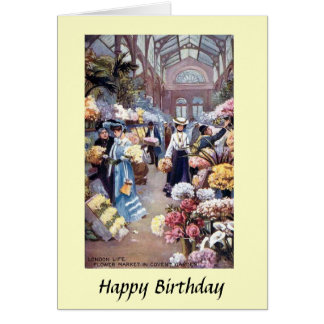 Birthday Card - Covent Garden, London