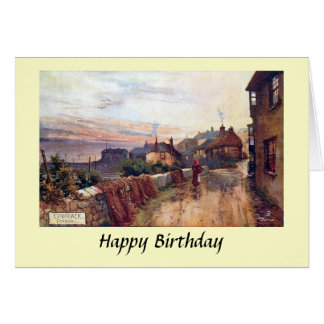 Birthday Card - Coverack, Cornwall