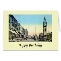 Birthday Card - Darlington, County Durham