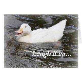 Birthday Card: Duckling Card