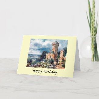 Birthday Card - Edge Hill, Warwickshire