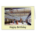 Birthday Card - Euston Station, London