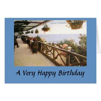 Birthday Card - Folkestone, Kent